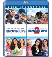 Grown Ups and Grown Ups 2/Drengerøve 1 og 2 (2 disc) (Blu-Ray)
