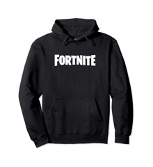 FORTNITE Black Logo Hoodie Size 7-8 Years