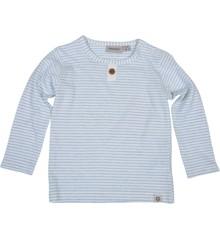 PAPFAR - Dashed Stripe Baby Boy LS Top