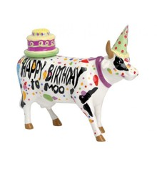 CowParade - Happy Birthday To moo! - Medium (92825)