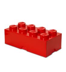 Room Copenhagen - LEGO Opbevaringskasse Brick 8 - Rød