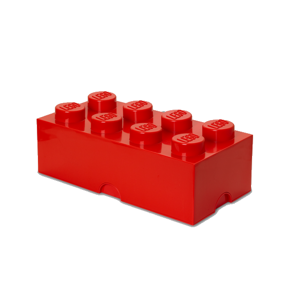 Room Copenhagen - LEGO Storeage Brick 8 - Red