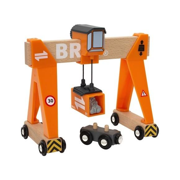 BRIO - Gantry Crane (33732)