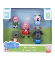 Peppa Pig - 5 figure Pack (905-0667)