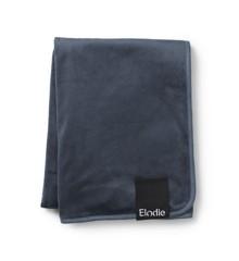 Elodie Details - Fløjls Tæppe - Blue Peal