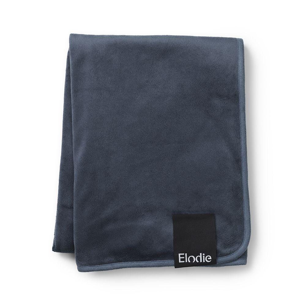 Elodie Details - Velvet Blanket - Blue Pearl