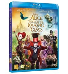Alice through the looking glass/Alice i Eventyrland: Bag spejlet (Blu-Ray)