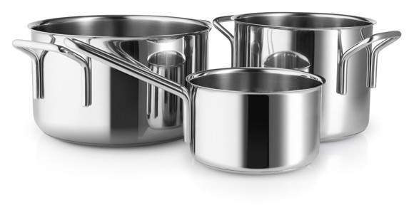 Eva Trio -  Stainless Steel Collection Box Set w/3 pots (94202411)