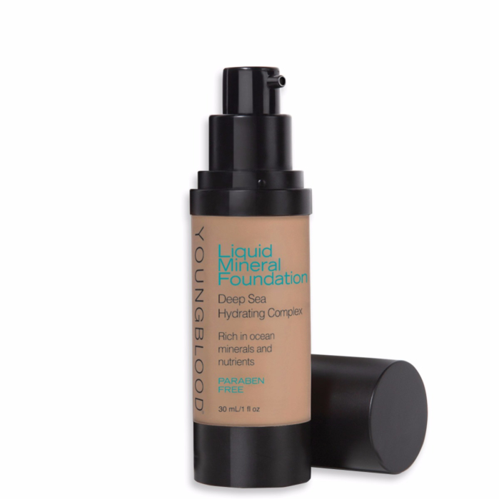 YOUNGBLOOD - Liquid Mineral Foundation - Suntan