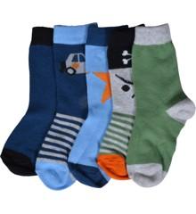 Melton - Numbers 5-pack Boys Socks