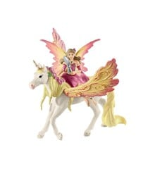 Schleich - Bayala - Fairy Feya med Pegasus Enhjørning (70568)
