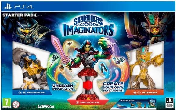 Skylanders Imaginators Starter Pack (Spanish Box ENG/FR IN GAME)