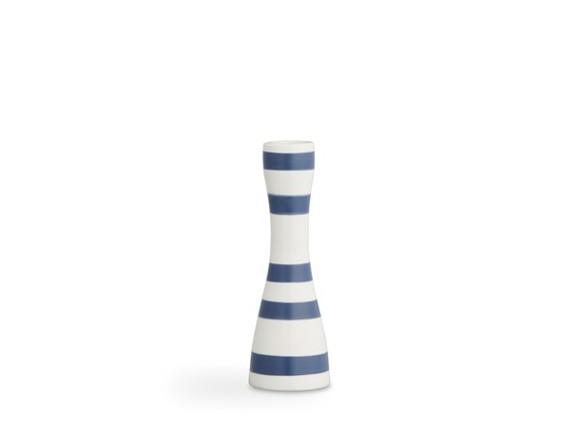 Kähler - Omaggio Candleholder Small - Steel Blue (691763)