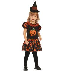 Pumpkin Dress - Childrens Costume (Size 92-104) (95362-2)