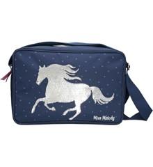 Miss Melody - Shoulder Bag with Sequins - Blue (0010279)