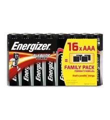 Energizer - Battery AAA/LR03 Alkaline Power 16-Pack