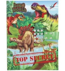Dino World - Dagbog med Kode & Lyd