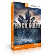 Toontrack - EZX Rock Solid - Expansion Pack For EZdrummer (DOWNLOAD)