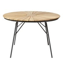 Cinas - Hard & Ellen Garden Table Ø 110 cm  - Aluminium/Antracit (2520136)