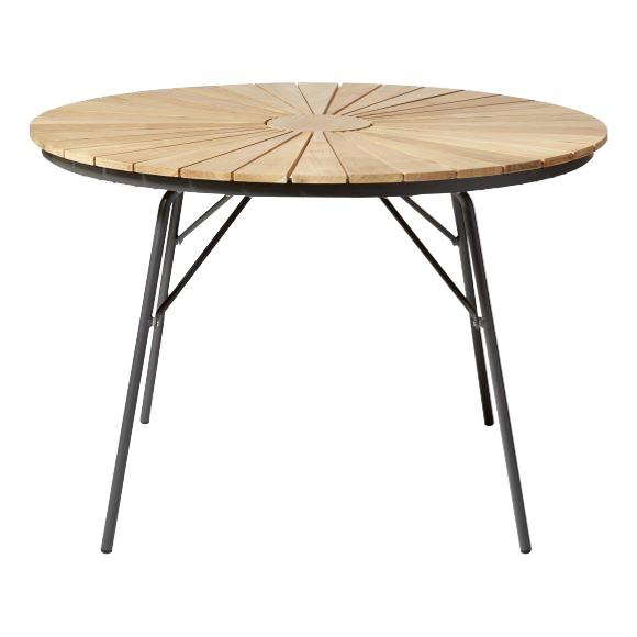 Cinas - Hard & Ellen Garden Table Ø 110 cm  - Aluminium/Antracit (2520136)