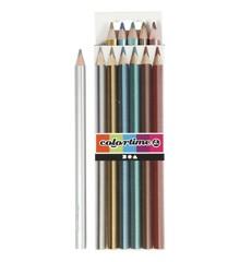 Colortime - Fargeblyanter - Metallic (6 stk.)