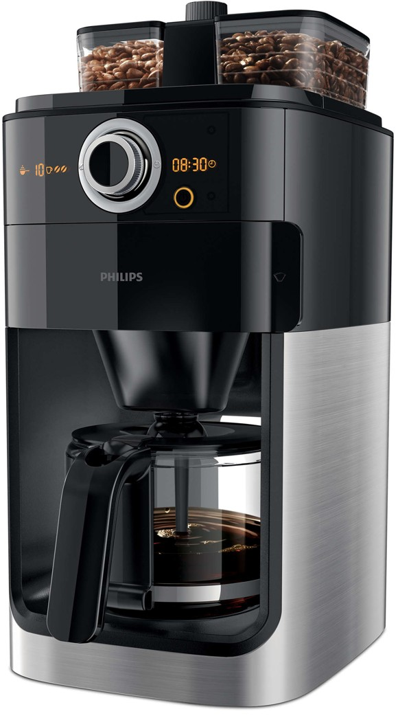Philips - Grind & Brew Kaffemaskine HD7769/00