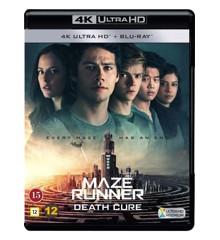Maze Runner: Dødskuren (4K Blu-Ray)