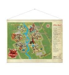 "Fallout Wallscroll ""Nuka World Map"""