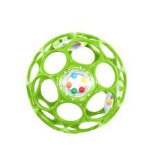Oball med rangle - 10 cm - Grøn