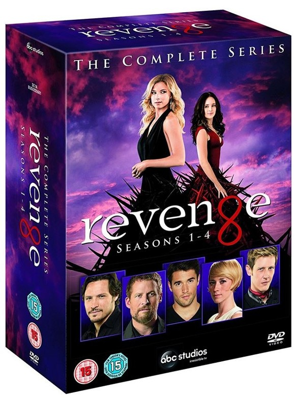 Revenge: Seasons 1-4 (6-disc) - DVD