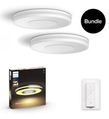 Philips Hue - 2xBeing Deckenleuchte - White Ambiance - Bluetooth - Bundle