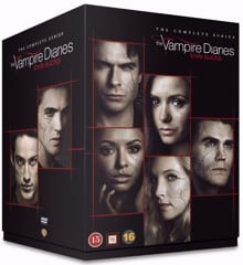 The Vampire Diaries - Sæson 1-8 - DVD