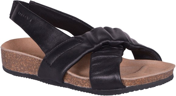 Move - Girls - Cork Sandal w. elastic