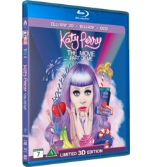 Katy Perry the Movie: Part of Me (3D Blu-Ray)