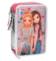 Top Model - Tripple Pencil Case - Pink (048989)
