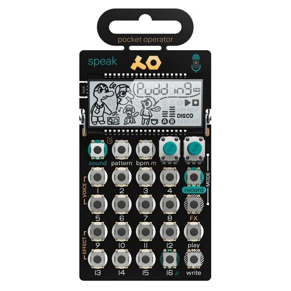 Teenage Engineering - PO-35 Speak - Pocket Operator Synthesizer