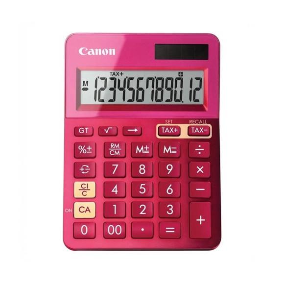 Canon LS-123K Metallic Pink Dual Powered Calculator (9490B003AA)
