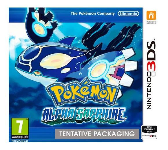 Pokemon Alpha Sapphire (UK/SE/FI/DK)