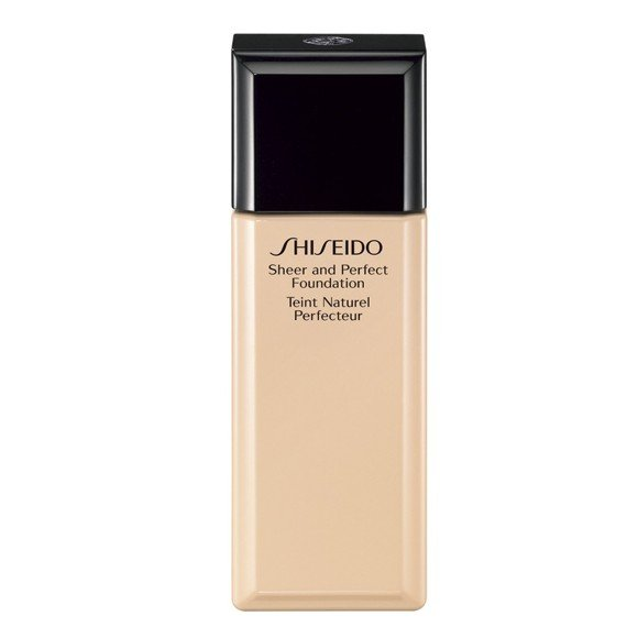 Shiseido - Sheer & Perfect Foundation - D20 Rich Brown
