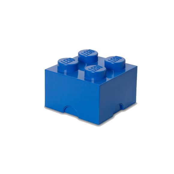 Room Copenhagen - LEGO Storeage Brick 4 - Blue (40031731)