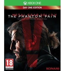 Metal Gear Solid V (5): The Phantom Pain - Day One Edition with Steel Case