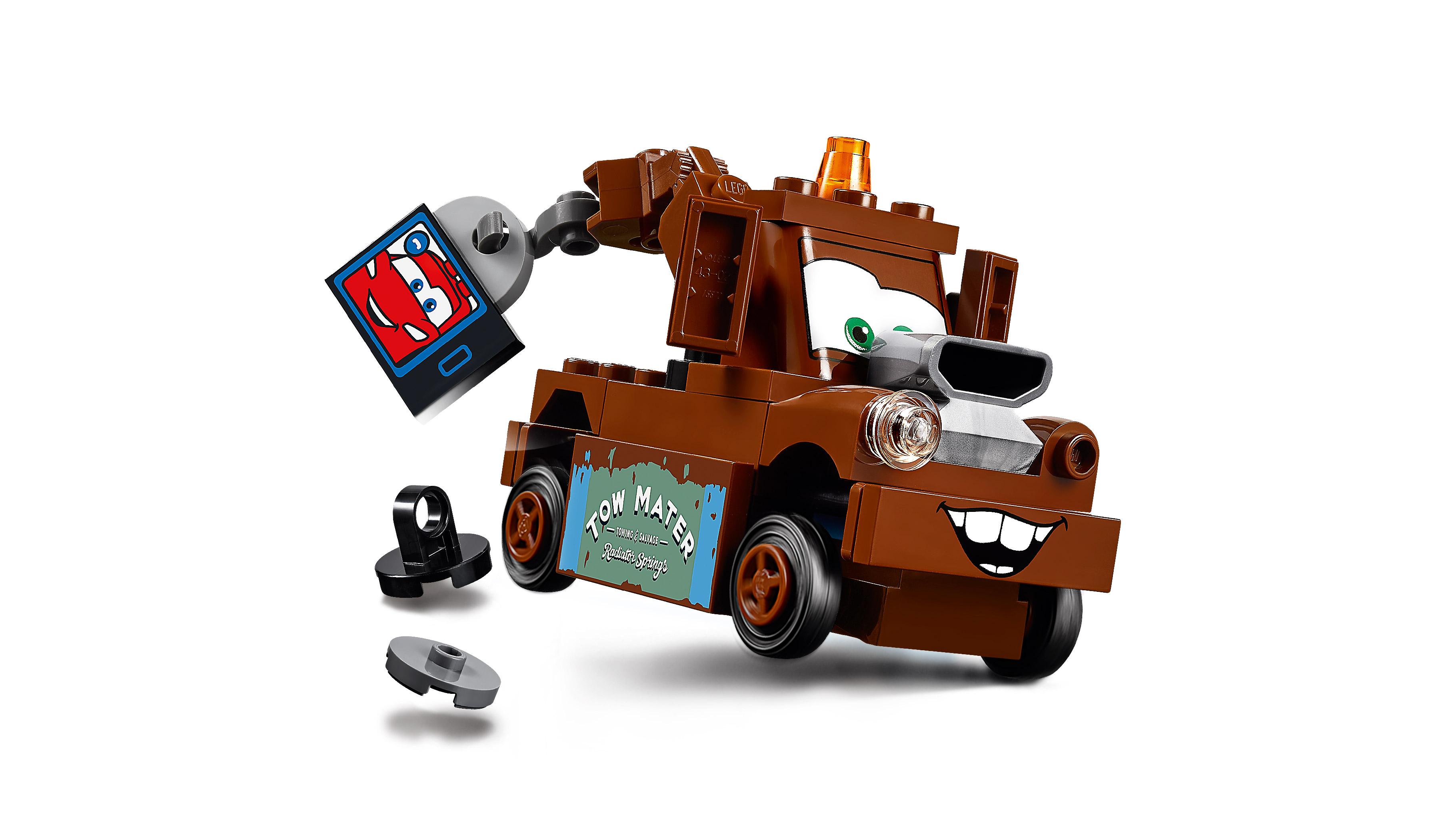 Lego 10733 Cars 3 Mater/'s Junkyard