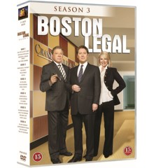 Boston Legal: Season 3 (6-disc) - DVD