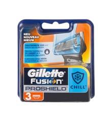 Gillette - Fusion Proshield Chill Blades 3 Pcs