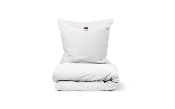 Normann Copenhagen - Snooze Bedding 140 x 200 cm - Deep Sleep White (310500)