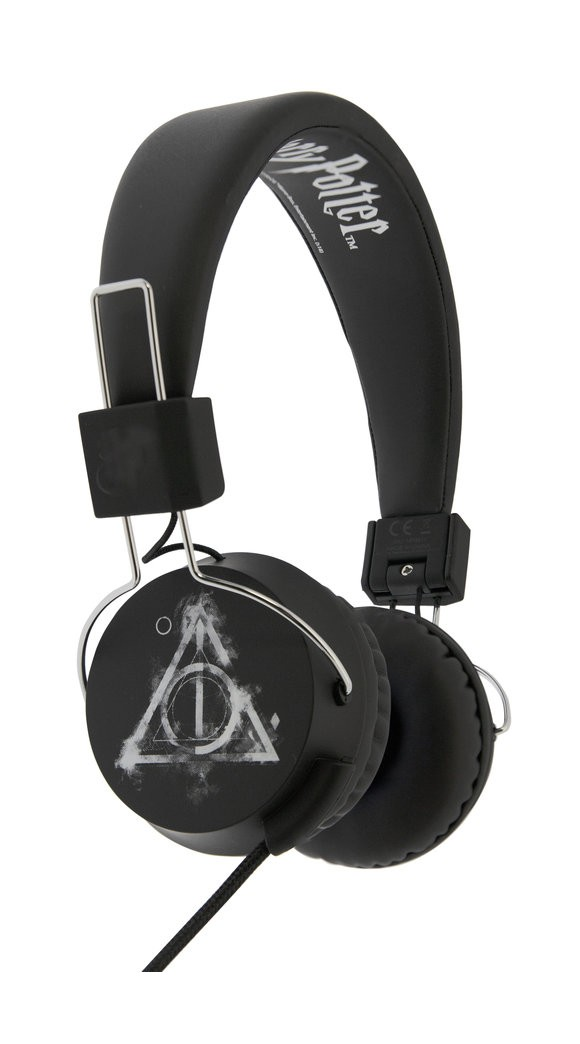 OTL - Teen Headphones - Harry Potter - Smokey Deathly Hallows (856516)