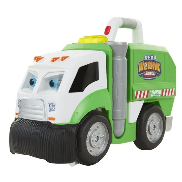 Real Workin' Buddies Mr. Dusty Garbage Truck (74421-SA-4L1)