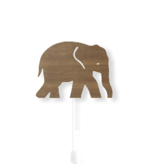 ​Ferm Living - Elephant Lamp - Smoked Oak (100050316)