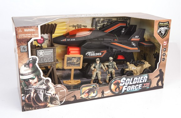 Soldier Force - Six Darts Fighter Jet (521026)