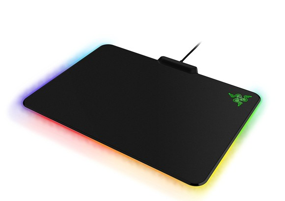 Razer - Firefly Cloth Edition  Gaming Mouse Mat